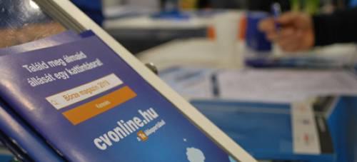 HVG állásbörze Cvonline.hu szemmel